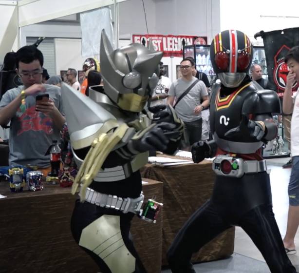 Geeks and Gamers Galore at the Singapore Comic Con 2019