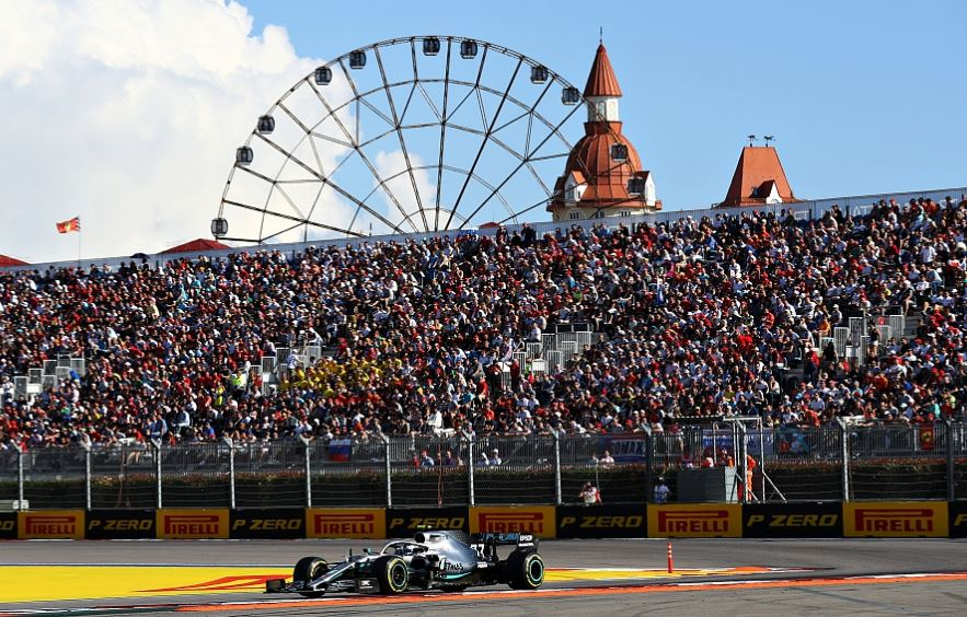 Russian F1 organizers say race stays despite WADA sanctions
