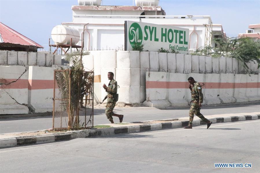 Four killed, six injured in hotel attack in Mogadishu