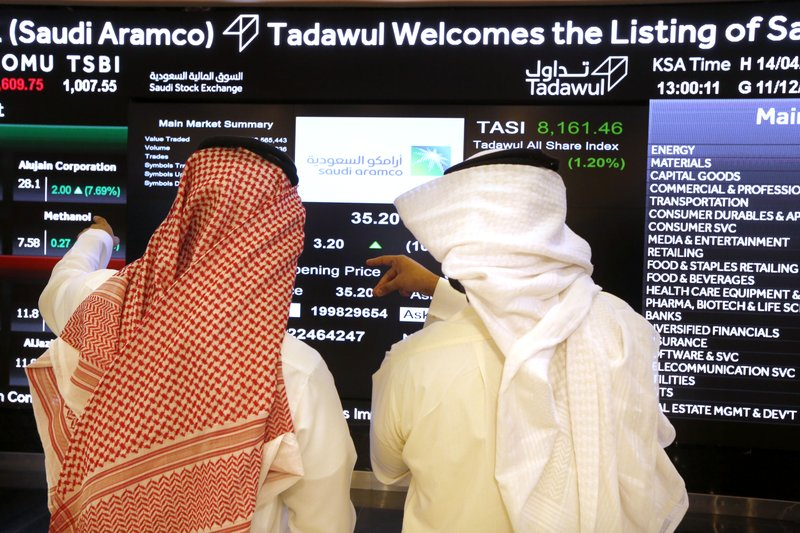 Saudi Aramco inches near $2 trillion in day 2 of trading