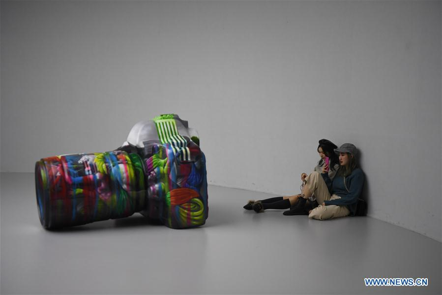 Multimedia art show held in Changsha