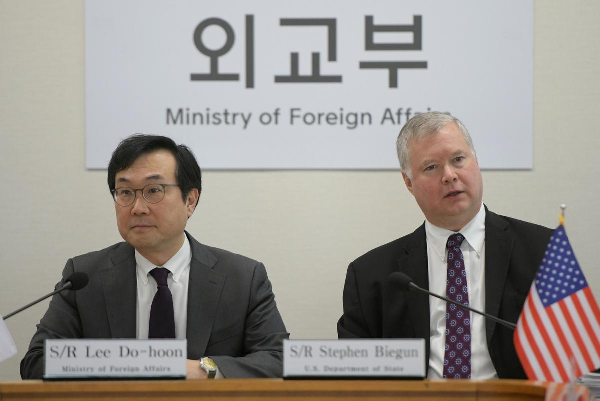 Nuke envoys of ROK, US to hold talks in Seoul over Korean Peninsula issues