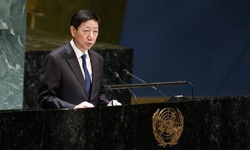 Chinese envoy calls for efforts to promote global ocean governance