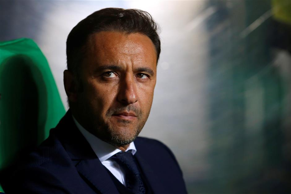 SIPG coach Pereira scoffs at Everton links