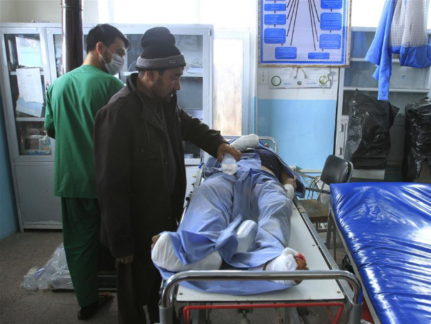 10 civilians killed in roadside bomb blast in E. Afghan province: official
