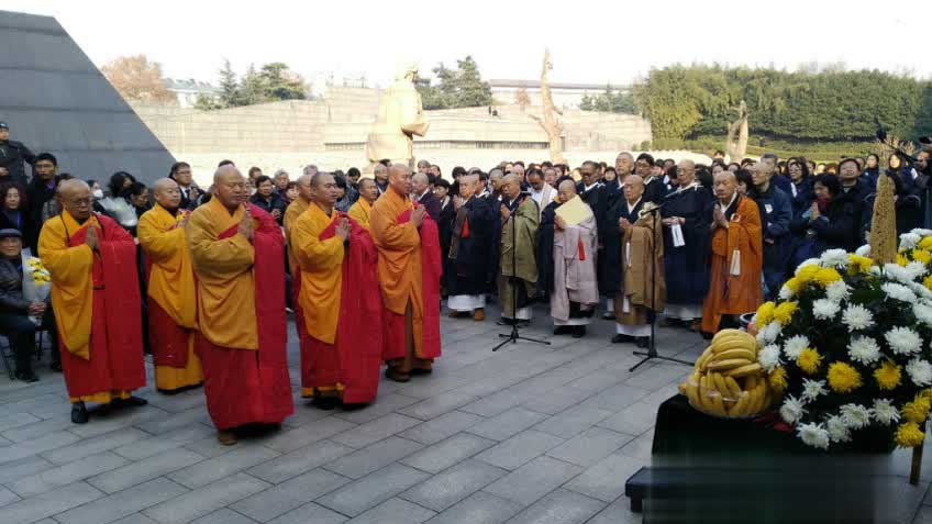 Buddhist assembly held to mourn the Nanjing Massacre victims