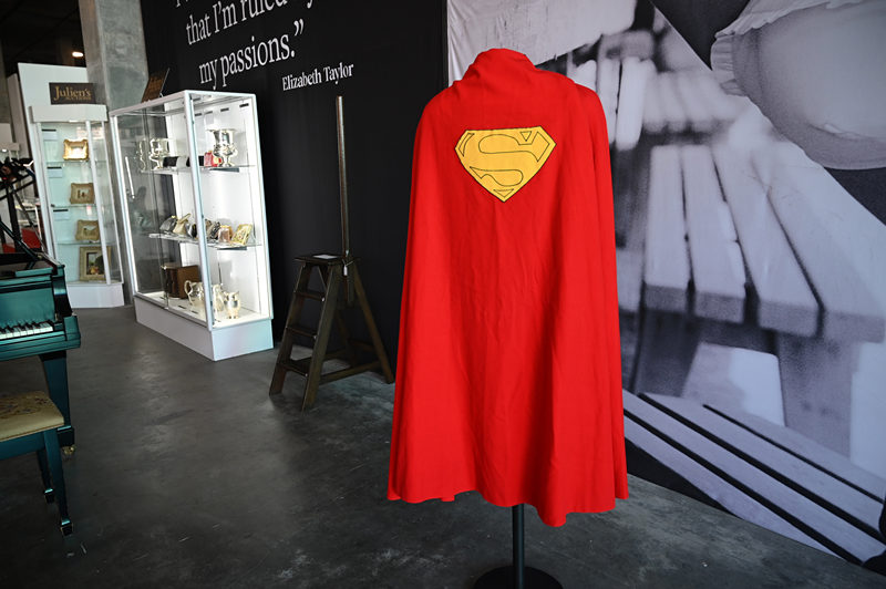 Superman's cape and Bilbo's pipe up for grabs in Hollywood auction