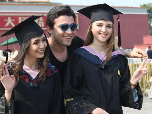 Country in top ranks hosting foreign students