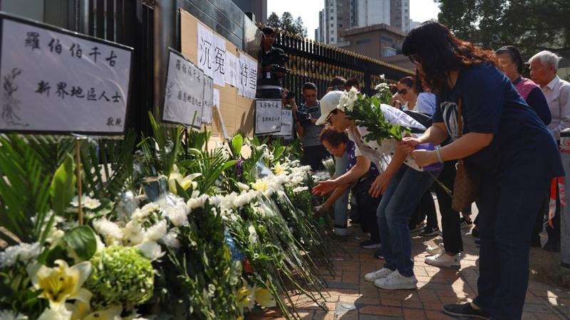 Hong Kong police arrest 5 suspects involved in murder of street cleaner