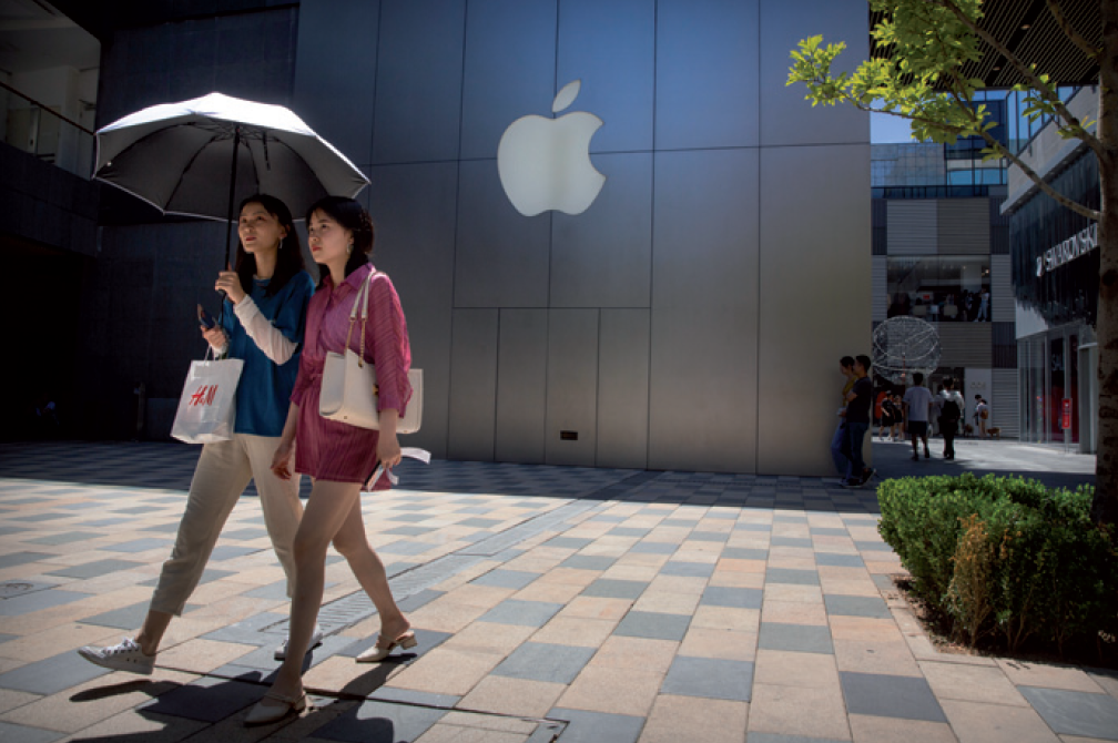 Apple boosted by trade deal prospects