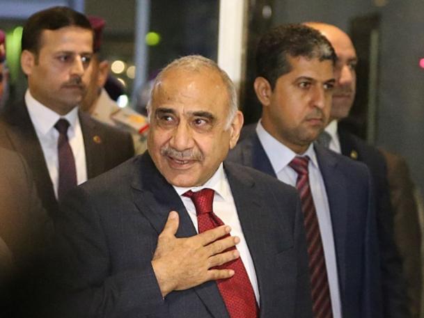 Iraqi caretaker PM denounces US sanctions on Iraqi figures