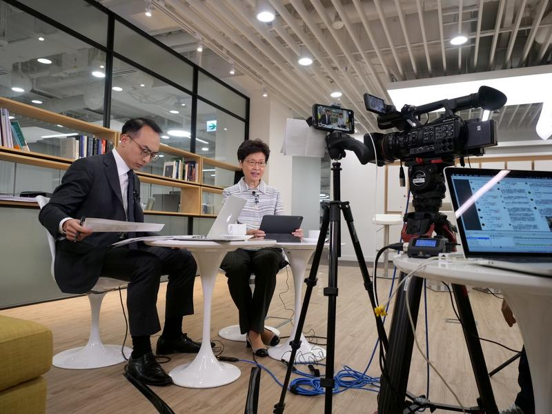 HK govt officials to go live online to connect with the public