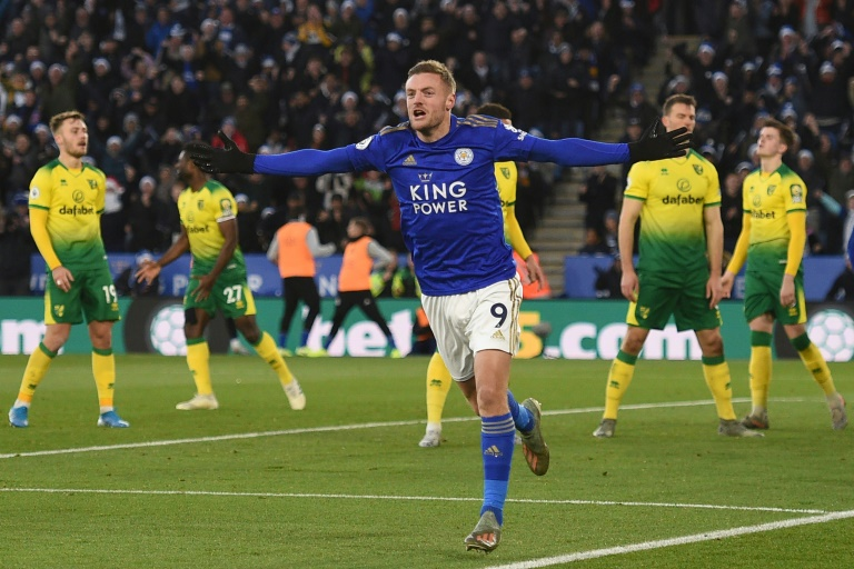 Leicester's winning run ends against Norwich