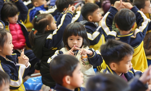 China launches program to tackle school bullying