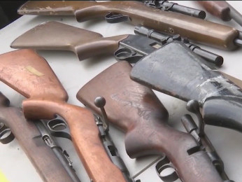 San Franciscans turn in hundreds of weapons on gun buyback day for violence reduction