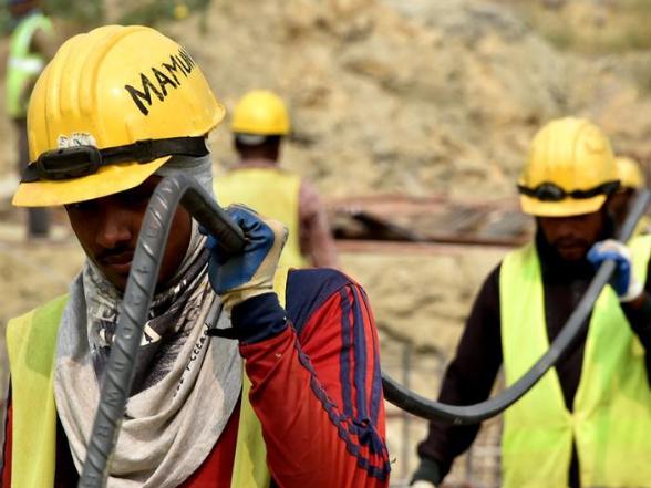 China-funded sewage treatment plant under construction in Dhaka, Bangladesh