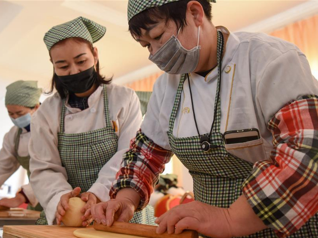 Various vocational training programs conducted to help people increase income in Xinjiang