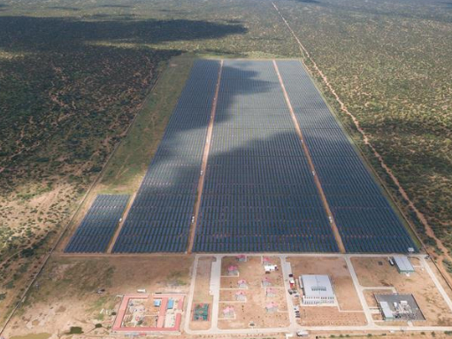 Kenya launches China-built solar power plant