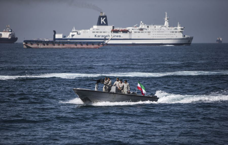 Iran's IRGC says it monitors foreign vessels in Gulf