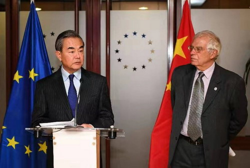 China, EU should uphold multilateralism in face of unilateralism, power politics