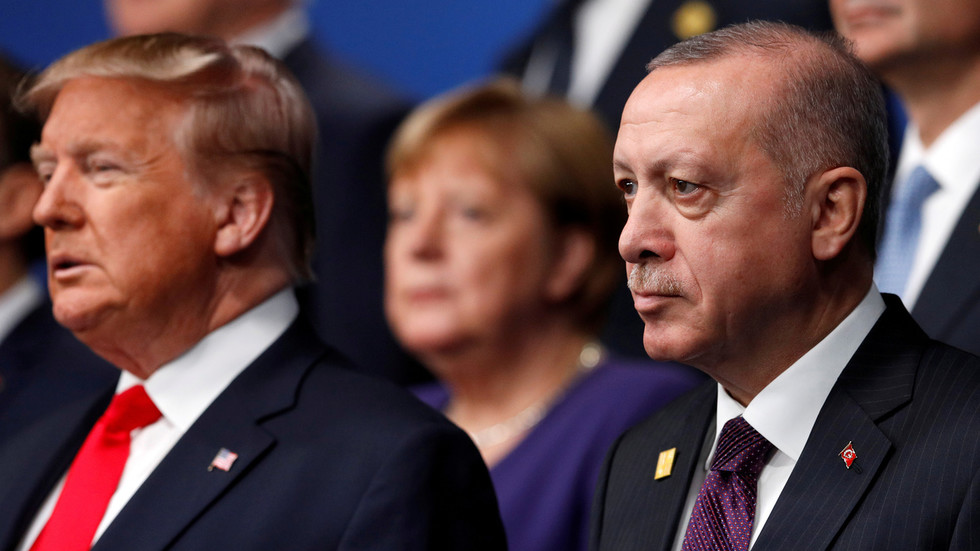 Turkey's Erdogan threatens to close 2 US military bases