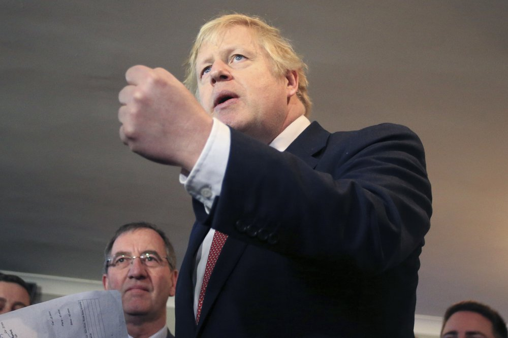 No letup for UK lawmakers: Johnson presses ahead with Brexit