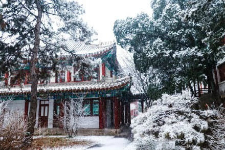Beijing welcomes this winter's second snowfall