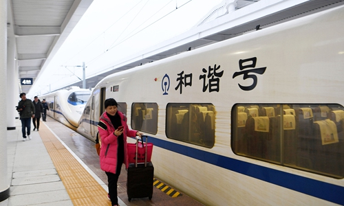 Yangtze River Delta region sets rail passenger record