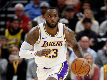 NBA season becomes a family affair for LeBron James