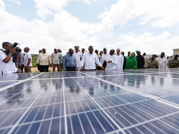 Kenya launches Chinese-built 50MW solar power plant