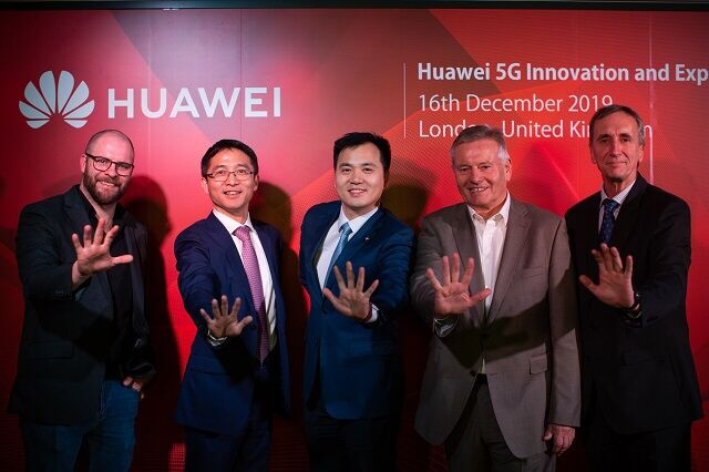 Huawei opens 5G Innovation, Experience Center in London