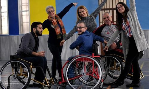 Wheelchair dancers in Damascus challenge stereotype of disability