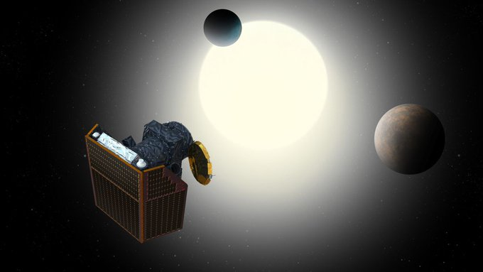 European exoplanet hunter blasts off from Earth