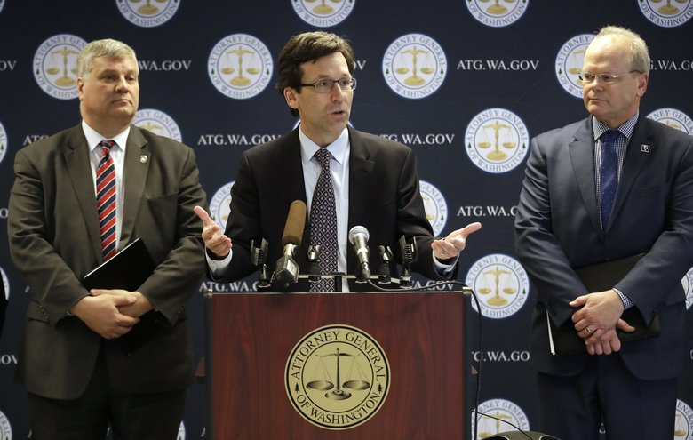Washington AG sues US administration for detaining immigrants at courthouses