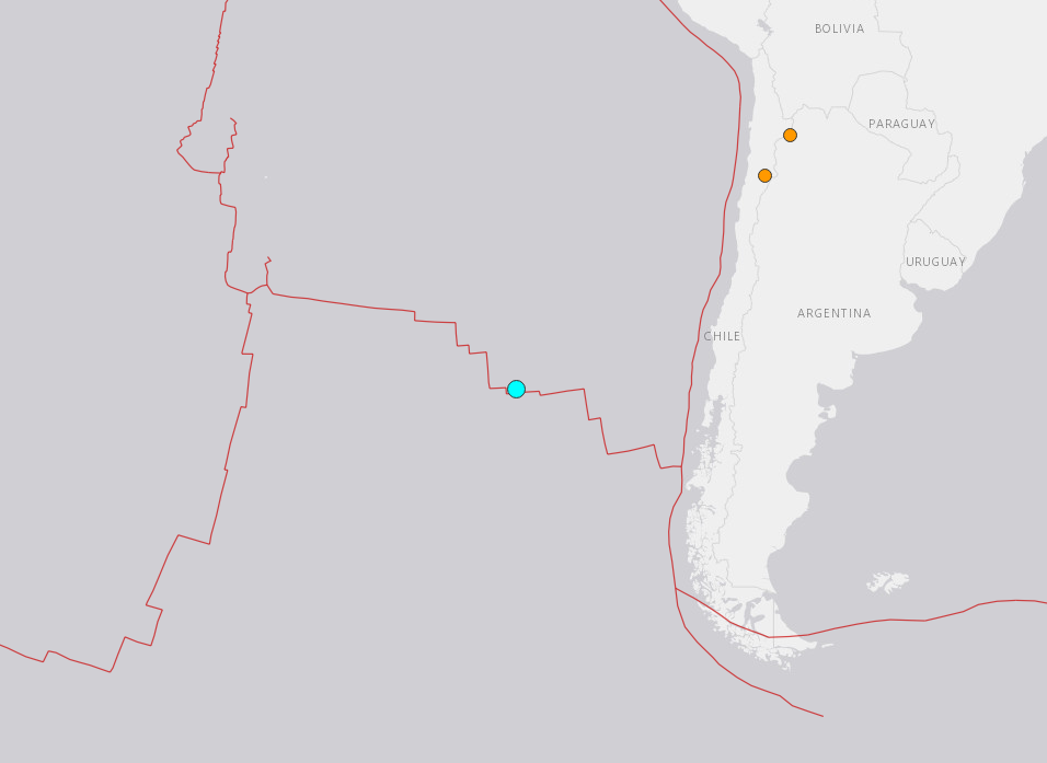5.5-magnitude quake hits southeast of Easter Island: USGS