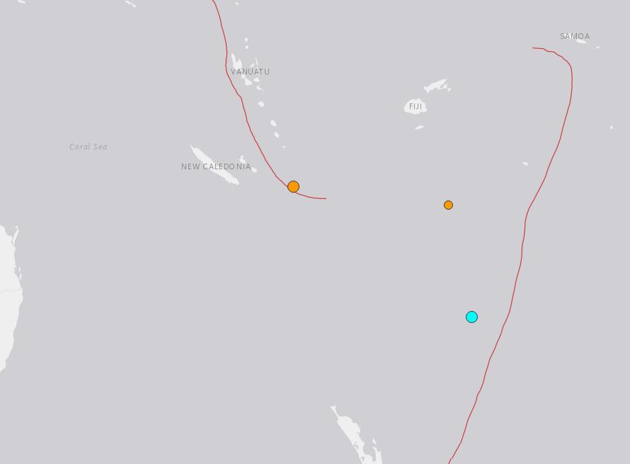 5.9-magnitude quake hits 80km SW of Raoul Island, New Zealand: USGS