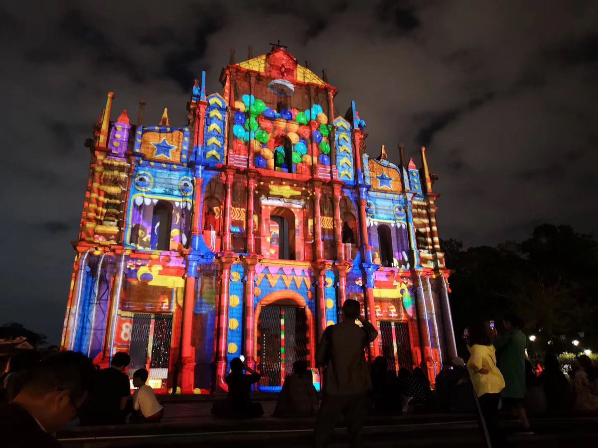 Macao Light Festival a dazzling event