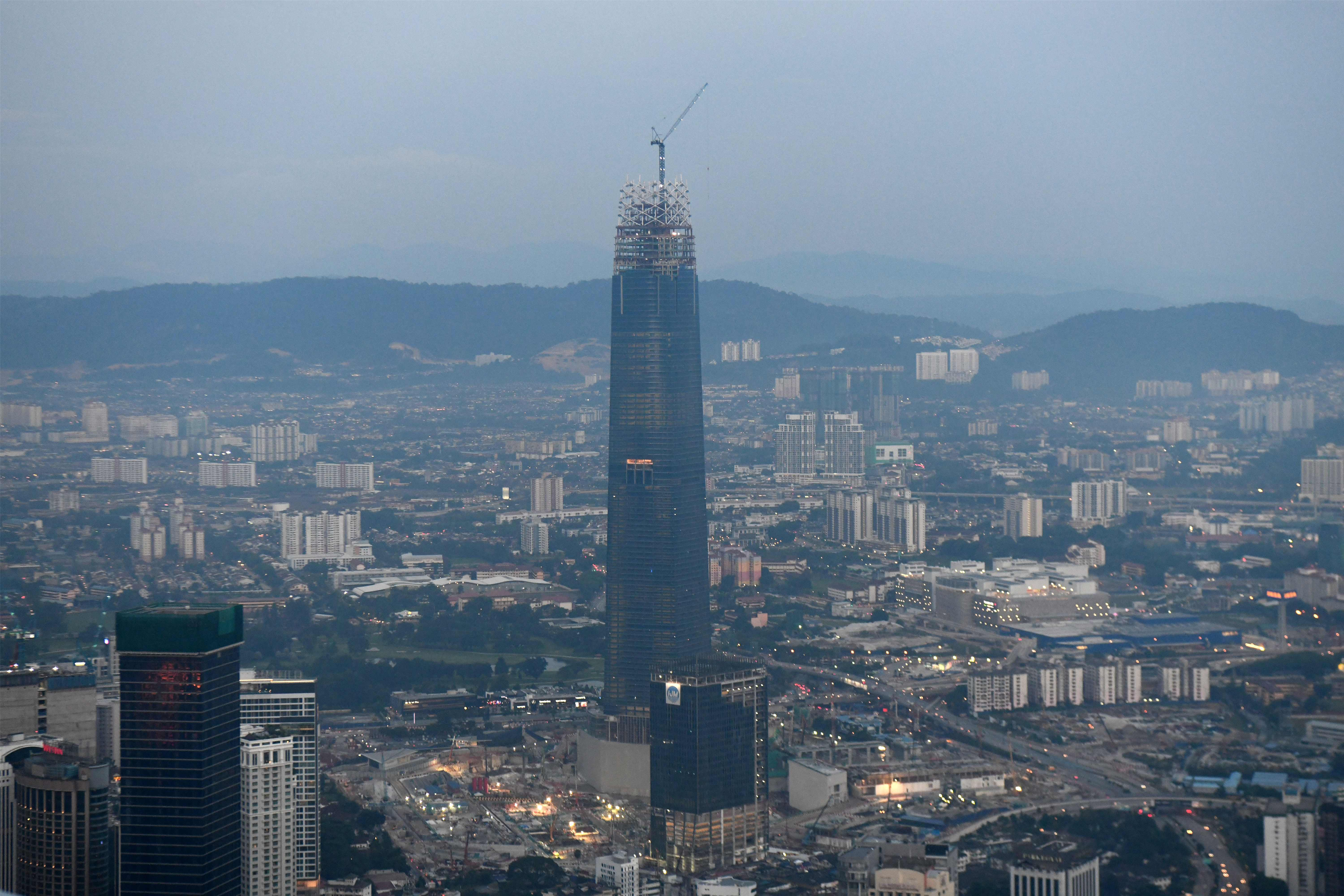 Chinese firm to be master developer for new Malaysian business district