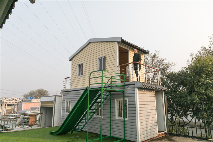 Foldable house ready in 30 minutes
