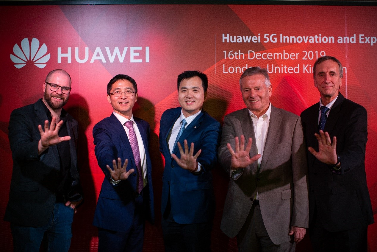 Huawei opens 5G innovation & experience center in London