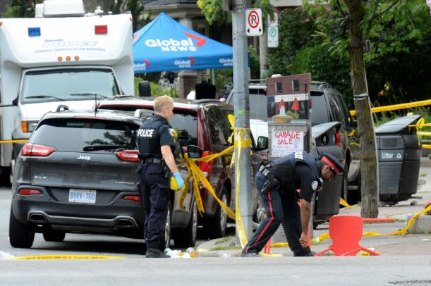 Toronto shooting victims sue US gun maker