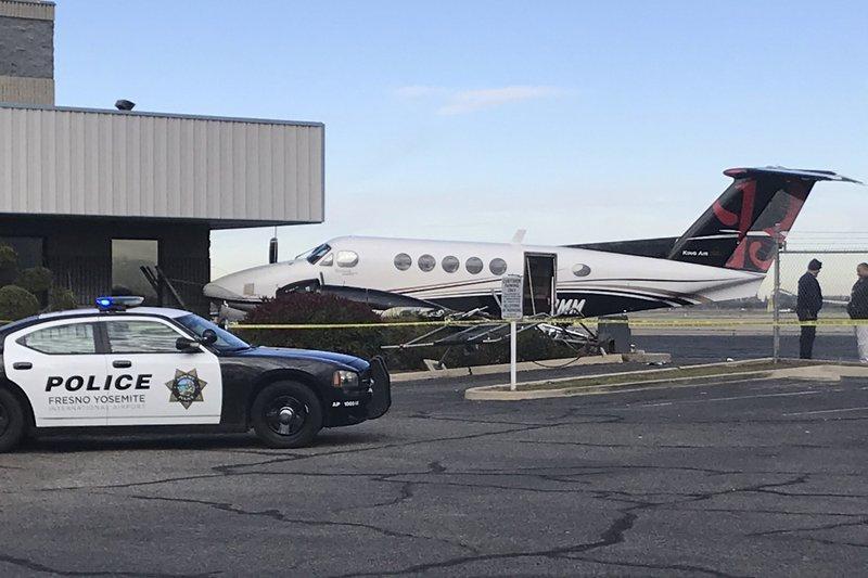 US teen girl sneaks into small plane, drives it into fence