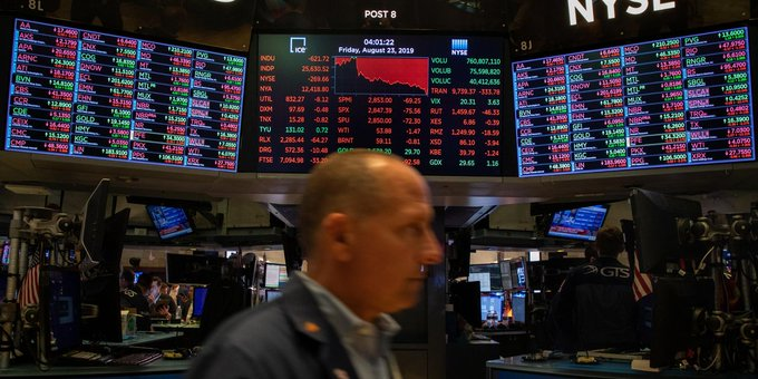 Wall Street rises, brushing off Trump impeachment