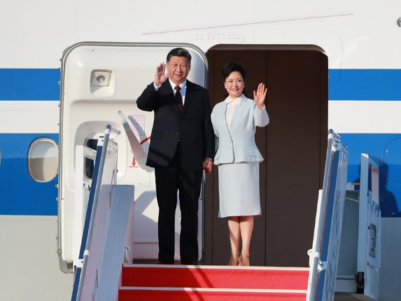 Chinese president arrives in Macao for return anniversary celebrations