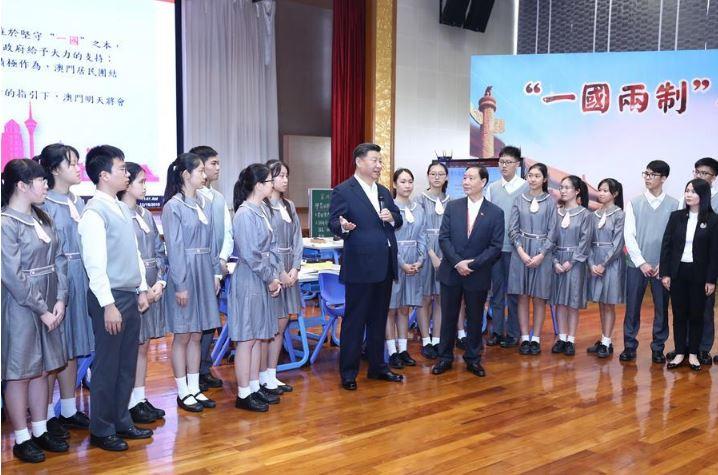 Xi speaks highly of Macao's patriotic education, urges increased efforts