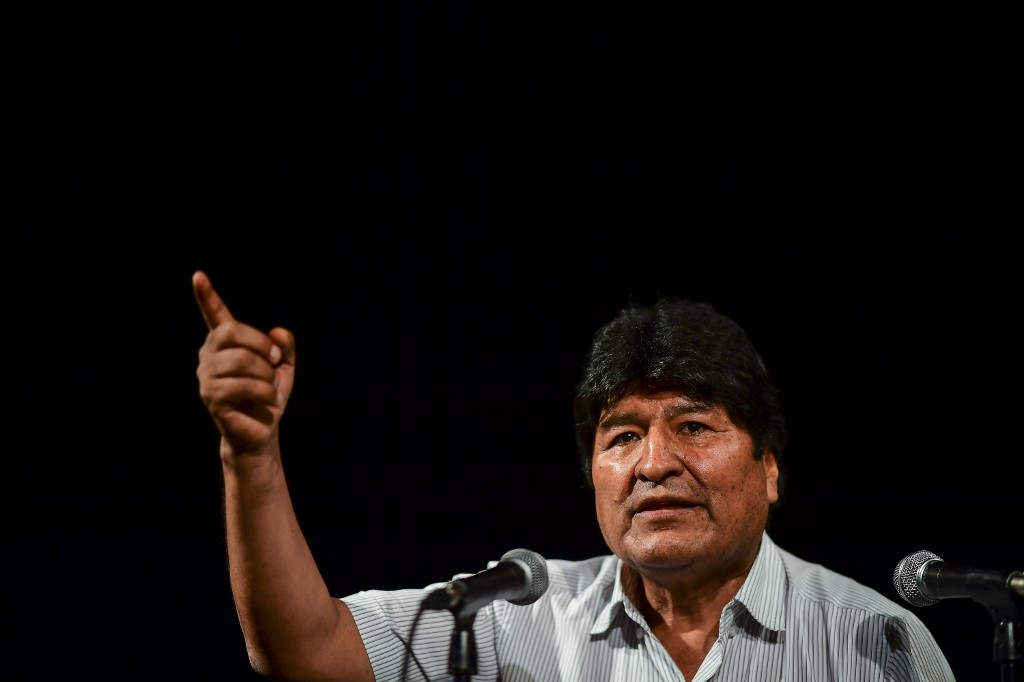 Bolivia's Morales says he is still president