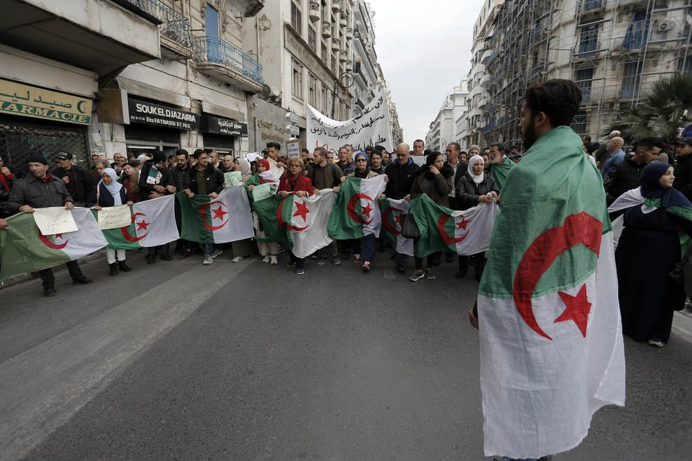Algeria inaugurates new president rejected by protesters