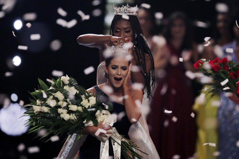 Virginia biochemist Camille Schrier is crowned Miss America