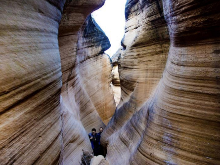 Scenery of Maoxiang canyon in China's Shaanxi Province
