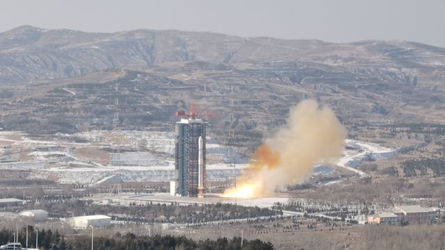New China-Brazil earth resource satellite sent into space